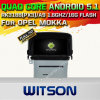 Carro DVD GPS do Android 5.1 de Witson para Opel Mokka com sustentação do Internet DVR da ROM WiFi 3G do chipset 1080P 16g (A5549)