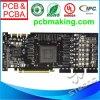 Multilayer Gouden PCB van de Onderdompeling met de Componenten van de Assemblage
