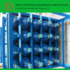 Cylinder orizzontale Rack con 20 Oxygen Cylinders
