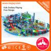 Structure de jeu en plastique de château d'intérieur de maison de théâtre d'enfants à vendre