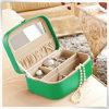 Коробка ювелирных изделий подарка браслета кольца серьги ожерелья PU кожаный