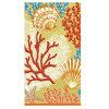 子供の綿の印刷のベロアの浴室タオルのビーチタオル