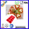 Modèle promotionnel de chocolat de vaisselle de cuisine de silicone