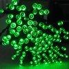 Зеленый солнечный свет для рождества, Wedding украшение шнура рождества