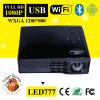500 proyector lleno androide del DLP LED777 WiFi HD de los lúmenes del ANSI