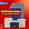 Poli 3kw PV sistema solare del montaggio di Moge per installazione al suolo