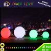 Esfera redonda do diodo emissor de luz do plástico impermeável ao ar livre do RGB da piscina