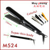 Straightener profissional Titanium cerâmico do cabelo do melhor vendedor da fonte da fábrica