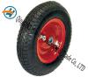 La roue en caoutchouc pneumatique pour la plate-forme troque la roue d'alliage (16  X4.00-8)