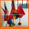 디지털에 의하여 인쇄되는 작은 국기 책상 깃발