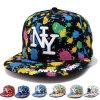 印刷された方法点は刺繍したNyヒップホップTrukfitのトラック運転手の帽子(YKY3318)を