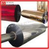 Hojas metalizadas aluminio de la película del oro