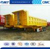 3車軸11m Front Lift Dump Semi TrailerかSelf Dump Truck (WL9250ZX)