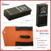 1 Bottle (5270R3)のためのFoldable贅沢なPU Leather Wine Box