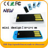 Mini-USB-Blitz-Laufwerk einfaches Pendrive mit kundenspezifischem Firmenzeichen (ED051)