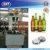 Botella de vidrio de cerveza Corona Máquina que capsula