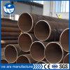 ASTM BS EN DIN GB LSAW / REG soldadas rectas de tubería de acero