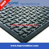 Vloer/de Mat van het Matwerk van de Piramide van Balck de Grijze Antislip 3mm Rubber voor Verkoop