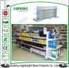 Cremagliere della scaffalatura del reparto della mensola di visualizzazione del metallo del supermercato di Peforated