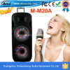 Doppio 15 Inches Plastic Active Speaker con la discoteca Light