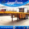 Tri-as 40ft Aanhangwagen van de Container van 45ft Flatbed Semi