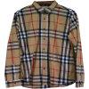 Stretch Shirt degli uomini con Matching Checkxdl15023