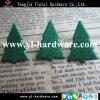 Brillo Green Tree Brads para Christmas (BD52)