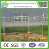 Temperatura quente Fence de Sale 2.4m Wide Galvanised com Plastic Base