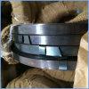 Zwart/Blauw Ijzer dat Steelband vastbindt