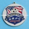 フットボールはエポキシのコーティングが付いている昇進の柔らかいエナメルの金属メダルを遊ばす