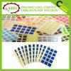 Las etiquetas Plaza 10 mm Código de color Pegatinas color Sticky Autoadhesivas