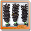 Remy Natural Color 4A 브라질 Virgin Human Hair