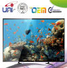 2017 Uni Internet TV elegante de la visualización de LED del OEM buenos
