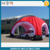 Heißes-Sale Inflatable Red Spider Tent für Car Promotion Advertizing