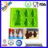 Robot Food Grade Silicone Ice Cube Tray