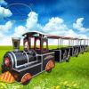 Изготовление Китая поезда коммерчески Trackless поезда туристское