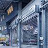 Exterior de alta velocidad de laminación de acero puertas de persiana