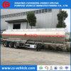 세 배 차축 50000L 연료 탱크 트레일러 50m3 알루미늄 연료 탱크 트레일러