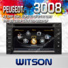 Witson S100 A8 Chipset Dual Chipset Car DVD에 GPS를 위해 Peugeot 307 (2002-2010년)/3008 (2009-2011년)