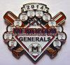 야구 접어젖힌 옷깃 Pin (MJ-PIN-154)