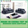 Sofa tapissé par cuir mou nordique moderne de vache à type