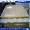 Rrockwool/lana di vetro/comitato di parete panino unità di elaborazione/di ENV della lamiera di acciaio di PPGI per prefabbrica la Camera del contenitore della costruzione