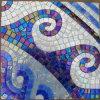 Mosaico mezclado del vidrio del azulejo de suelo