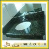 Partie supérieure du comptoir de granit de papillon/dessus verts de vanité pour la cuisine ou la salle de bains