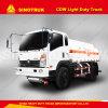 가벼운 제한 무게 트럭 스테인리스 석유 탱크 기름 수송을%s 3000 리터