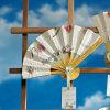 De Gunsten van de Ventilator van de Hand van het huwelijk in het Document van het Zaad van de Bloem