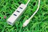 Тип-C к 3-Port эпицентру деятельности USB 3.0 с переходникой локальных сетей