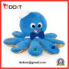 Brinquedos pequenos do polvo do luxuoso da pele do bebê azul