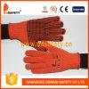 Coton 2017 de Ddsafety ou points de PVC de gants tricotés par polyester