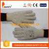 Ddsafety 2017 guanti lavorati a maglia naturali del lavoro del cotone con Ce